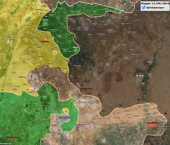 Aleppo Syria Map by Syria Military Situation In Northern Aleppo On April 11