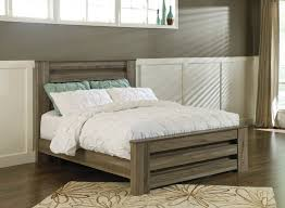 Ashley Furniture Mattress Zelen Grey Panel Bed Bernie U0026 Phyl U0027s Furniture By Ashley Furniture