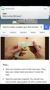 Make Meme Text - how to make a paper gun that shoots why is the fbi here know