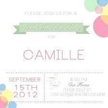 birthday e invite gallery invitation design ideas