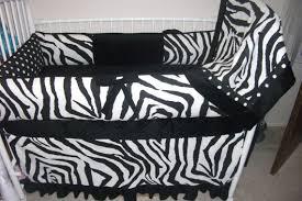 Zebra Print Baby Bedding Crib Sets Black And White Zebra Baby Bedding Crib Set By Abusymother