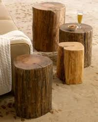 Wood Stump Coffee Table How To Make Tables From Slices Of Tree I Had Read That The Wood