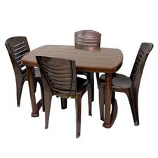 plastic table with chairs plastic dining table chair set dining table and chairs khaana