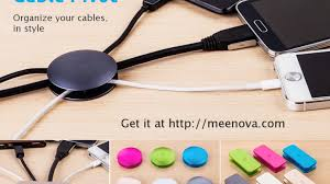 keep cables on desk cable pivot organize your cables in style by andy rich kickstarter