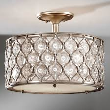 Flush Lighting Fixtures Feiss Sf289bus Lucia Semi Flush Ceiling Fixture