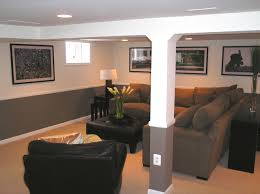 2 tone paint with chair rail basement ideas u0026 photos houzz