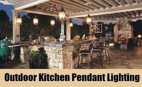 outdoor kitchen ideas designs outdoor kitchen ideas pendant lighting opt for pendant lighting