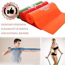 Chair Resistance Band Exercises Micrael Home Sports Exercise Resistance Band Set Of 3 Long Fitness