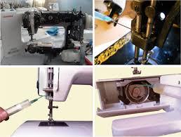 как смазать швейную машинку читайте на tkat ru