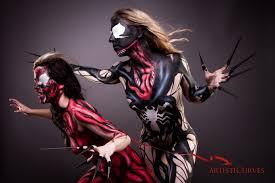 Carnage Halloween Costume Venom Carnage Shelle Chii Northern Belle Rogue Jim