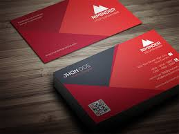 Red Business Cards Red And Black Material Business Card Trend Graphics Pinterest