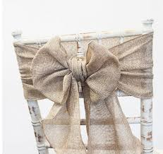 burlap chair sash burlap chair sash to to hire weddings events