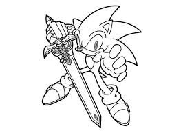 sonic x shadow coloring pages game super sonic coloring pages free