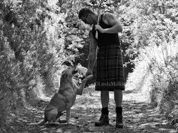 shooting man in kilt u2013 one of the images from my calendar