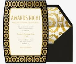 movie night invitations template awards show viewing party evite