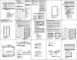 Free Wood Shed Plans Materials List by 10x12 Shed Plans Pdf