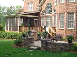 Screened In Patio Designs by Enjoy Contended Relaxing Moments By Designing Screened In Porches