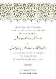 free wedding sles magnificent verbiage for wedding invitations iloveprojection