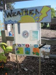 weather station is one of many hands on opportunities in the