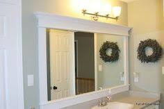 Framing An Existing Bathroom Mirror Pin By The Home Depot On Bathroom Design Ideas Pinterest