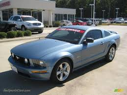 2008 Mustang Gt Black 2008 Ford Mustang Gt Deluxe Coupe In Windveil Blue Metallic