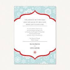 snowflake wedding invitations snowflake wedding invites with wording theme