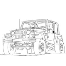 military jeep coloring page top 10 free printable jeep coloring pages online
