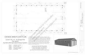 g322 40x72 16 pole barn plans blueprints construction documents