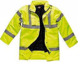 safest motorcycle jacket dickies sa22045 hi viz high visibility coat en471 safety work