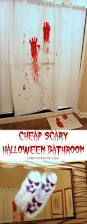 Bloody Shower Curtain And Bath Mat Scary Halloween Party Bathroom Oh My Creative