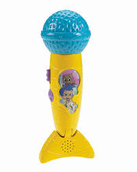 nickelodeon bubble guppies rockin u0027 micro fin microphone toys