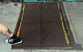 Steel Basement Doors by Sidewalk Doors Aluminum U0026 Wall Section At Sidewalk Cafe And