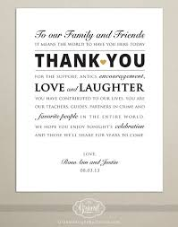 wedding thank you notes digital file personalized wedding reception thank you card