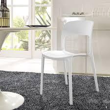 amazon com modway hop dining chair white kitchen u0026 dining