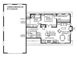 Rv Garage Floor Plans Garage Apartment Plans Stylish Garage Apartment Plan With Rv Bay