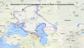 Map Of Eastern Europe by Khazarians New Promised Land Satu Insan U2013 Malaysia