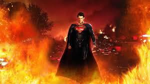man of steel wallpaper hd 1920x1080 superman fire henry cavill man of steel wallpaper 34273