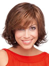 short curly bob wig ladies brown short curly bob wig lace front with bangs p4