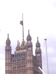 Flag Flown At Half Mast Parliament Flies Union Flag Half Mast In Memory Of Mp Itv News