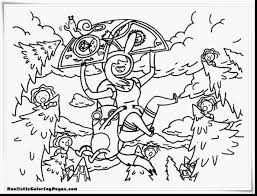 fantastic adventure time coloring pages realistic with adventure