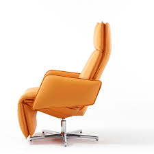 real leather swivel recliner chairs largo recliner chair by durlet kai stania created a very