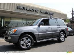lexus lx 470 vehicles for sale usa 2006 lexus lx 470 in galactic gray mica 007840 nysportscars