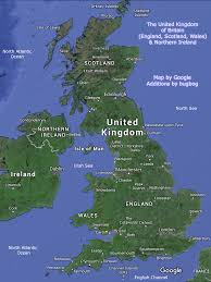 map of uk united kingdom map uk with tourist destinations and links