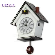 children rooms cuckoo clock european style small wooden clock