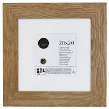 cadre nakato 23 x 50 cm chêne clair leroy merlin