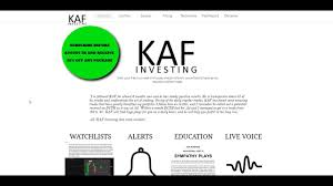 kaf investing chat room video lesson 1 youtube