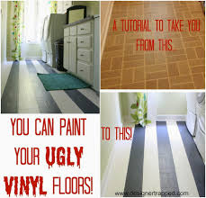 20 painting vinyl floors how to paint your linoleum floors yes