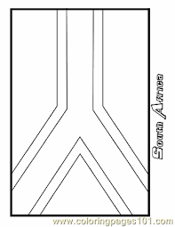 south african flag coloring page funycoloring
