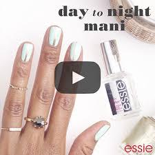 essie day to night nail art essie looks