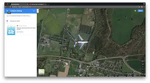 Google Map Of United States by Google Maps Accidentally Caught A Satellite Image Of An Airplane